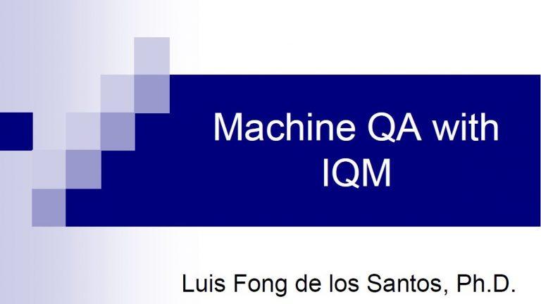 Fong - Presentation Machine QA