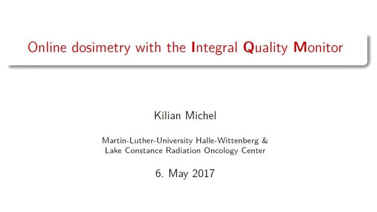 Michel - Online Dosimetry