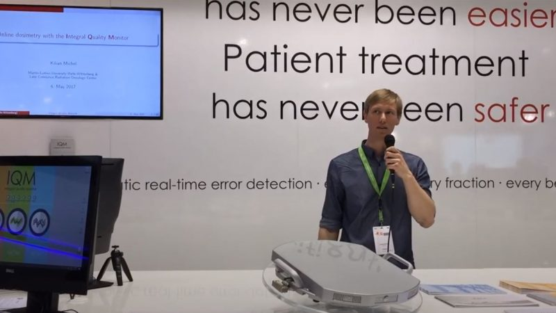 Online Dosimetry with IQM